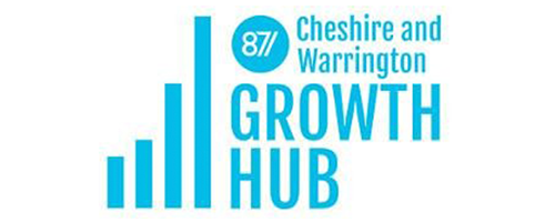 Cheshire & Warrington Growth Hub Logo